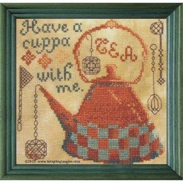 Схема Have a Cuppa Tempting Tangles Designs