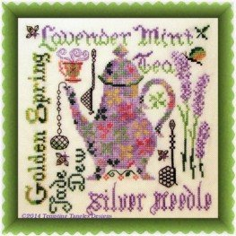 Схема Lavender Mint Tempting Tangles Designs