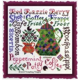 Razzleberry Roast Tempting Tangles Designs