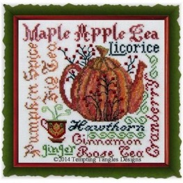 Схема Harvest Brew Tempting Tangles Designs