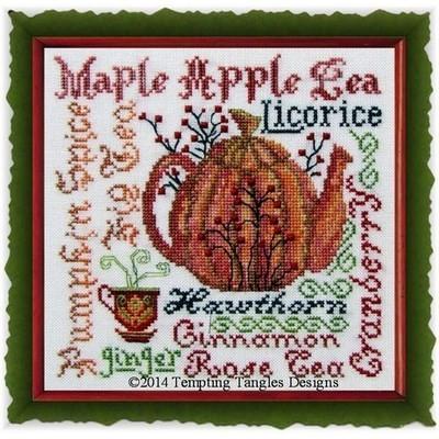 Схема Harvest Brew Tempting Tangles Designs
