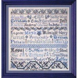 Схема Broderie Bleue Tempting Tangles Designs