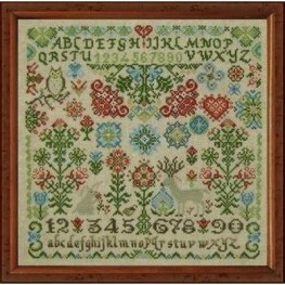 Wildflower Woodland Quaker Tempting Tangles Designs