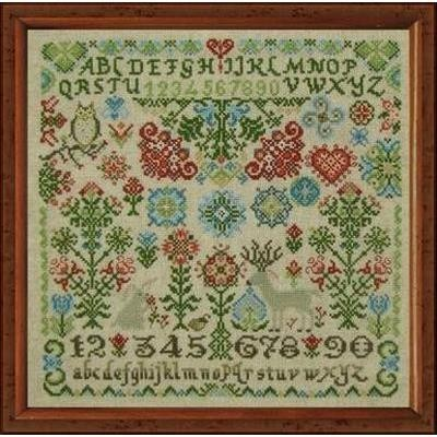 Wildflower Woodland Quaker Tempting Tangles Designs