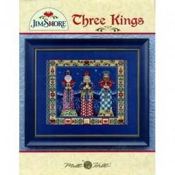 Three Kings Jim Shore Publications JSP006E