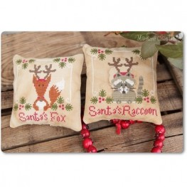 Santa's Fox & Raccoon Madame Chantilly