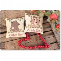 Схема Santa's Bears & Baby Bears Madame Chantilly