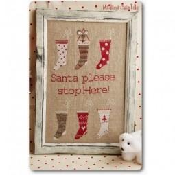 Santa Stop Here Madame Chantilly
