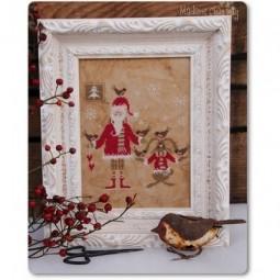 Santa And The Little Birds Madame Chantilly