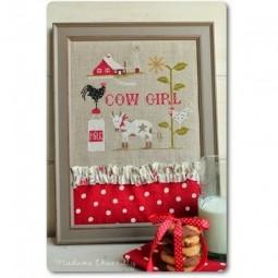 Схема Cow Girl Madame Chantilly
