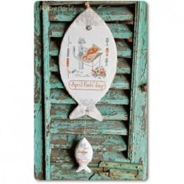 Pesce d'Aprile Madame Chantilly