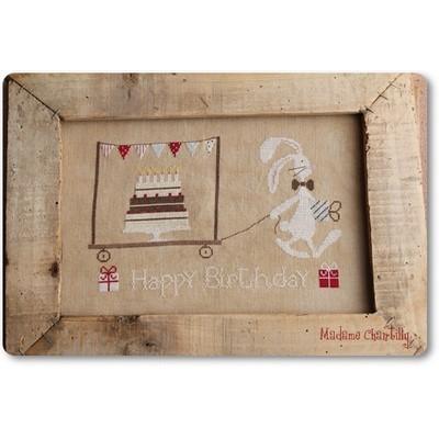 Схема Happy Birthday Madame Chantilly