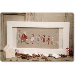 Схема Gifts For Santa Madame Chantilly