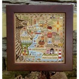 Map Of Hawk Run Hollow Carriage House Samplings