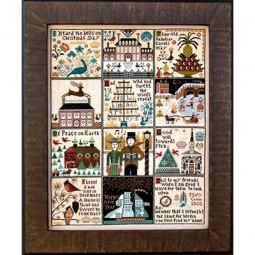 Схема Christmas at Hawk Run Hollow Carriage House Samplings