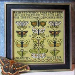 Схема Painted Wings Kathy Barrick