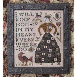 Схема Home in My Heart Kathy Barrick