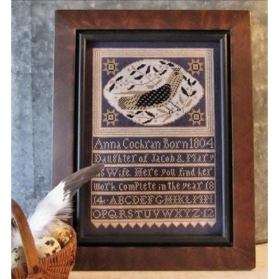 Схема Anna's Bird Kathy Barrick