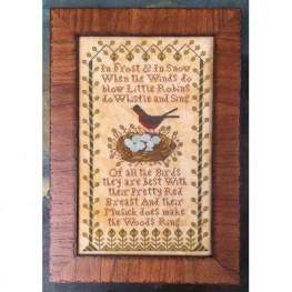 Схема Little Robins Kathy Barrick