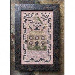 Схема A Miniature Quaker Sampler Kathy Barrick
