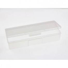Прямокутний пластиковый бокс 19.2 х 7.5 см