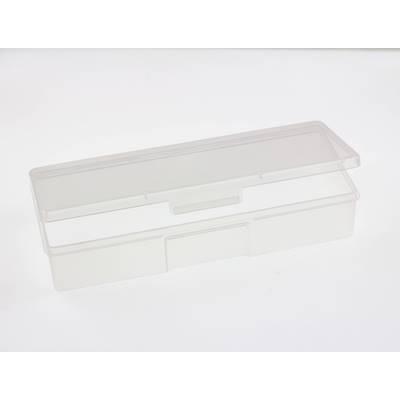 Прямоугольный пластиковый бокс 19.2 х 7.5 см