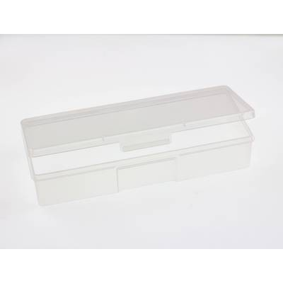 Прямоугольный пластиковый бокс, 19.2 х 7.5 см
