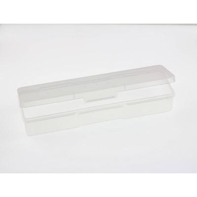 Прямоугольный пластиковый бокс, 19.2 х 5.8 см