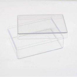 Прямокутний пластиковий бокс 9 х 12 х 4.5 см