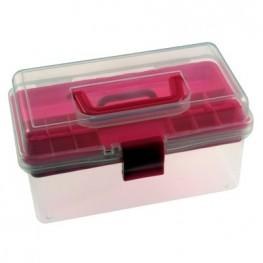 Бокс для хранения фурнитуры (розовый)