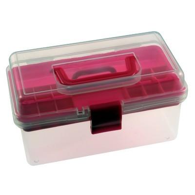 Бокс для зберігання фурнітури (рожевий)