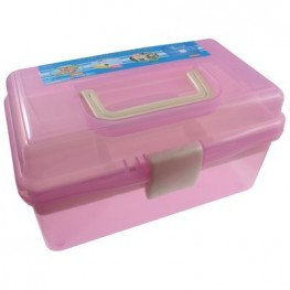 Органайзер для хранения фурнитуры (розовый)