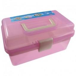 Органайзер для зберігання фурнітури (рожевий)