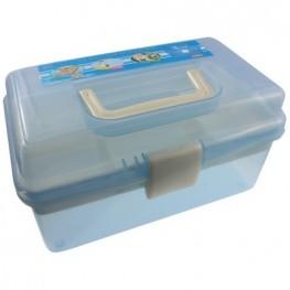 Органайзер для зберігання фурнітури (блакитний)