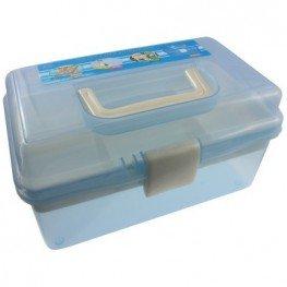 Органайзер для хранения фурнитуры (голубой)