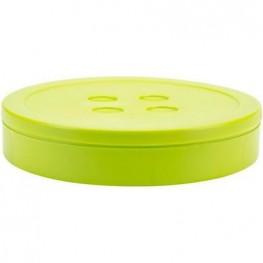 Коробка для хранения мелочей с отделениями, цвет лайм