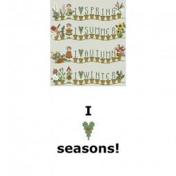 Схема I love Seasons Sara Guermani