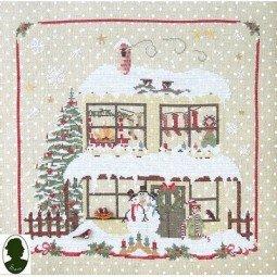Схема Christmas Avenue: Snowmen's House Sara Guermani