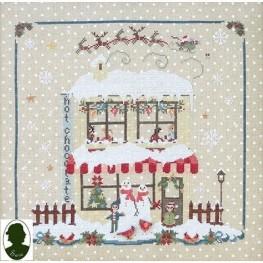 Схема Christmas Avenue: Hot Chocolate Sara Guermani