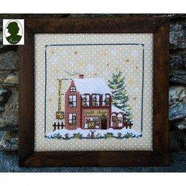 Схема Christmas Avenue: Quilt Shop Sara Guermani