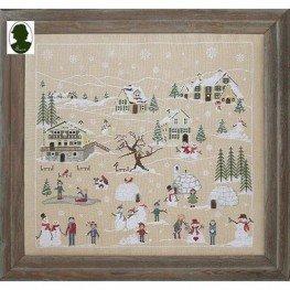 Схема Inverno sulle Alpi Sara Guermani