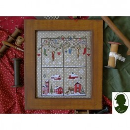 Схема Christmas Window 2 Sara Guermani