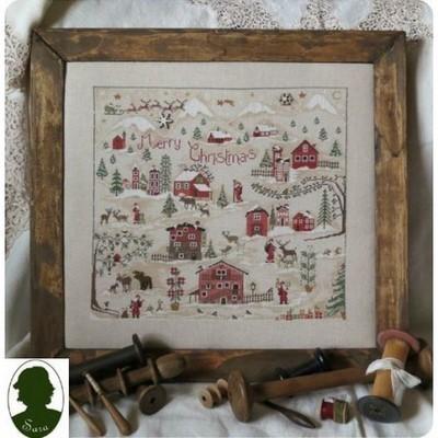 Christmas Village Sara Guermani
