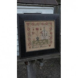 Rabbit Hollow Farm Sampler Stacy Nash Primitive