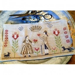 Схема From My To Thee Sewing Roll Stacy Nash Primitive