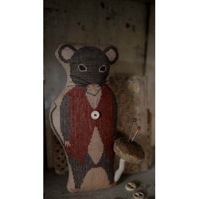 Monroe Mouse - Animal Crackers Series Stacy Nash Primitive