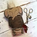 Humphrey - Animal Crackers Series Stacy Nash Primitive