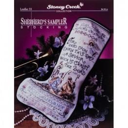 Схема Shepherd's Sampler Stocking Stoney Creek