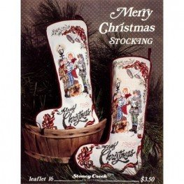 Merry Christmas Stocking Stoney Creek