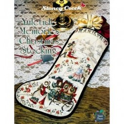 Yuletide Memories Christmas Stocking Stoney Creek